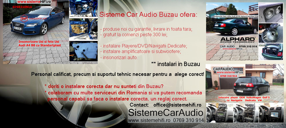 Sisteme Car Audio Buzau