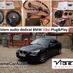 Sistem audio dedicat BMW Vibe Plug&Play
